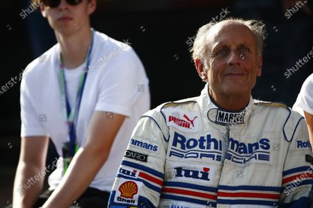 Red Bull Ring, Spielberg, Austria. Saturday 08 July 2017. Legendary racer Hans-Joachim Stuck at the Legends Parade. World Copyright: Andy Hone/LAT Images