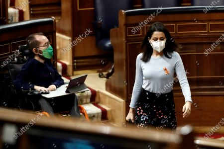Editorial photo of Spanish Lower House votes on new Education bill, Madrid, Spain - 19 Nov 2020