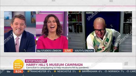 Editorial image of 'Good Morning Britain' TV Show, London, UK - 19 Nov 2020