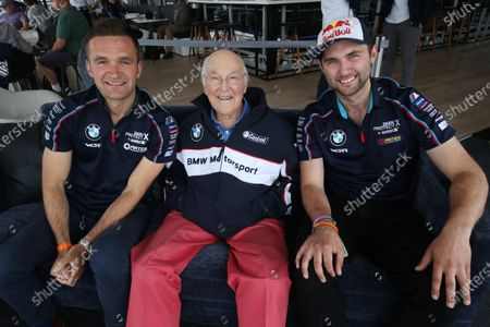 2017 Goodwood Festival of Speed. Goodwood Estate, West Sussex, England. 30th June - 2nd July 2017. COlin Turkington, Murray Walker and Andrew Jordan  World Copyright : JEP/LAT Images