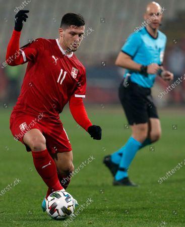 Editorial image of Russia Nations League Soccer, Belgrade, Serbia - 18 Nov 2020