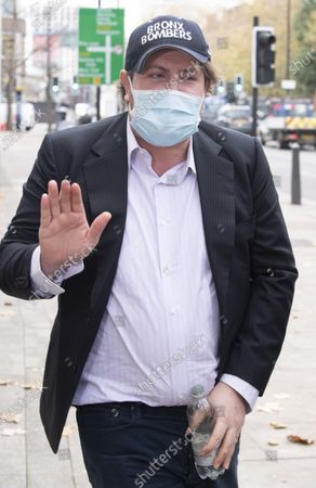 Editorial picture of James Stunt Court Case, Westminster Magistrates Court, Westminster, London, UK - 18 Nov 2020
