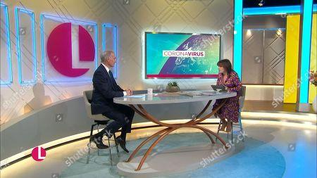Editorial picture of 'Lorraine' TV Show, London, UK - 19 Nov 2020