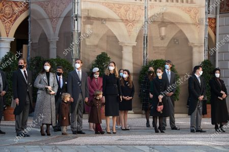 Editorial photo of National Day Celebrations, cathedral of Monaco, Monte-Carlo, Monaco - 19 Nov 2020