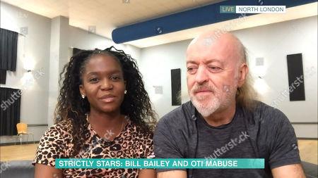 Stock Photo of Bill Bailey, Otlile Mabuse