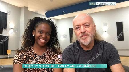 Stock Image of Bill Bailey, Otlile Mabuse