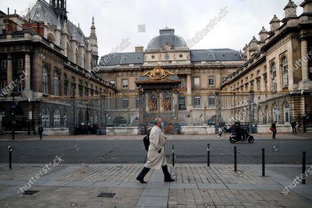 Editorial image of Train Attack Trial, Paris, France - 19 Nov 2020