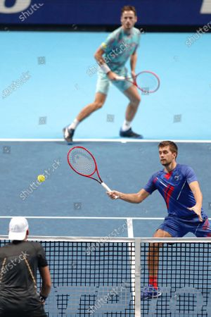 Editorial picture of Tennis ATP Finals, London, United Kingdom - 19 Nov 2020