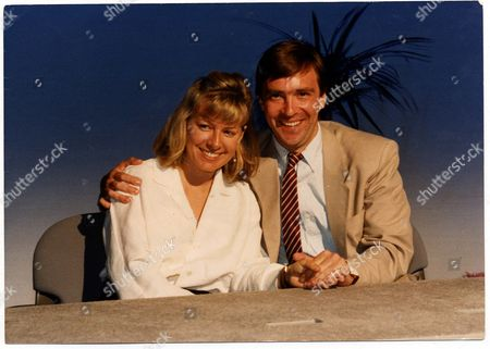 Journalist John Mccarthy Pictured With Girlfriend Jill Morrell The Woman Who Campaigned For His Release.