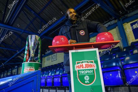 Stock Photo of Matt Murray during the Papa Johns Trophy draw for the round of 32 fixtures.