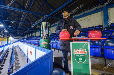 Editorial picture of Papa John's Trophy Round Two Draw, Football, St Andrew's Stadium, Birmingham, UK - 20 Nov 2020