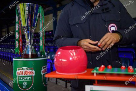 Editorial image of Papa John's Trophy Round Two Draw, Football, St Andrew's Stadium, Birmingham, UK - 20 Nov 2020