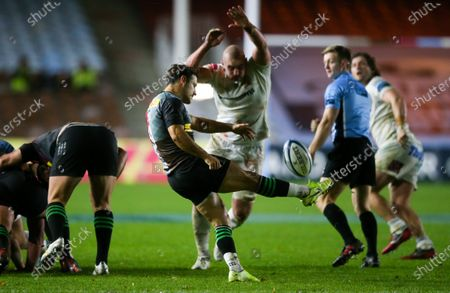 Editorial picture of Harlequins v Exeter Chiefs, Gallagher Premiership, Rugby Union, Twickenham Stoop, London, UK - 20 Nov 2020