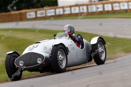 2017 Goodwood Festival of Speed. Goodwood Estate, West Sussex, England. 30th June - 2nd July 2017. Dieter Quester (AUT) AFM World Copyright : JEP/LAT Images