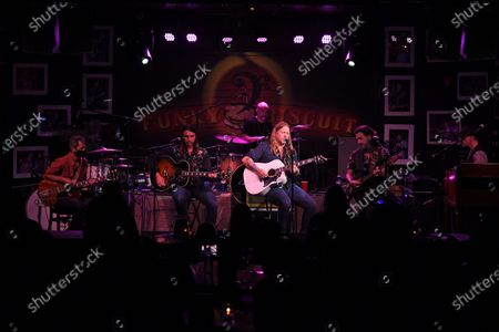 Duane Betts, R Scott Bryan, Devon Allman, John Lum, Berry Duane Oakley and John Ginty of The Allman Betts Band
