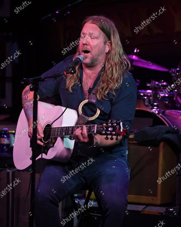 Stock Photo of Devon Allman of The Allman Betts Band