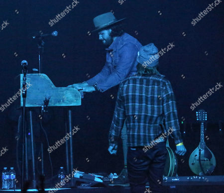Eric Steedly and Brandon Lancaster of LANCO perform onstage