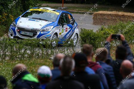 2017 Prestone MSA British Rally Championship,  Ypres Rally, Ypres, Belgium. 22nd - 24th June 2017. Meirion Evans / Jonathan Jackson Peugeot 208 R2. World Copyright: JEP/LAT Images.