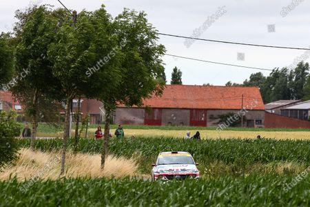 2017 Prestone MSA British Rally Championship,  Ypres Rally, Ypres, Belgium. 22nd - 24th June 2017. Chris Ingram / Elliott Edmondson Opel Adam. World Copyright: JEP/LAT Images.