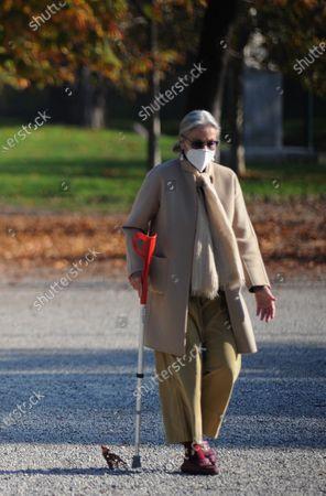 Ilaria Cerrina Feroni takes a lunchtime walk in Montanelli park