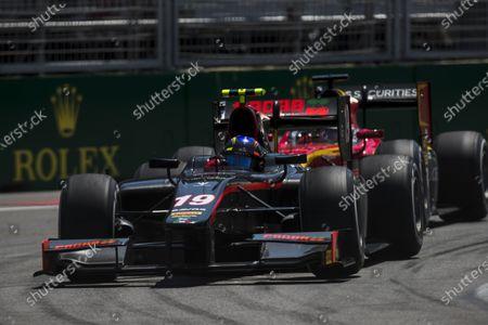 2017 FIA Formula 2 Round 4. Baku City Circuit, Baku, Azerbaijan. Sunday 25 June 2017. Johnny Cecotto Jr. (VEN, Rapax)  Photo: Zak Mauger/FIA Formula 2.