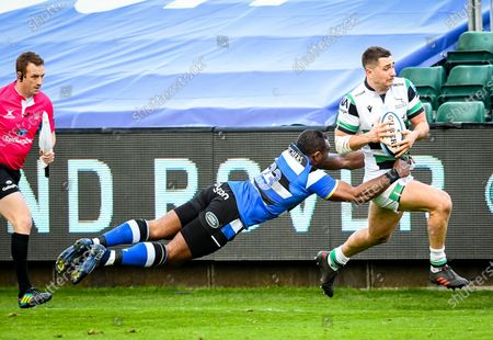 Editorial image of Bath Rugby vs Newcastle Falcons, Gallagher Premiership, The Recreation Ground, Bath, UK - 21 Nov 2020