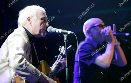 Special guests Dennis Greaves and Mark Feltham of Nine Below Zero