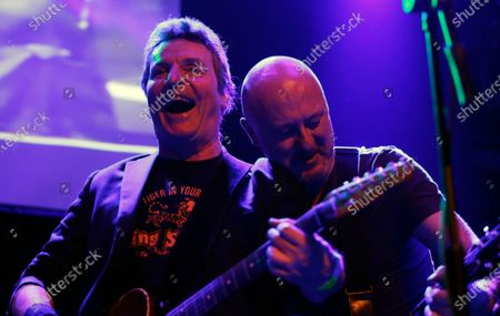 Stock Photo of Richard Holgarth (L) and Chris Taylor of Eddie and the Hot Rods