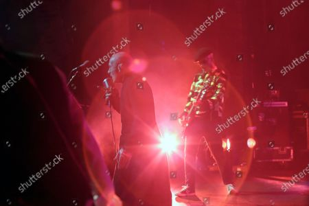"""Stock Image of Dave Vanian performs on stage during """"The Damned: A Night Of A Thousand Vampires"""" at The Palladium"""