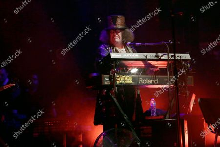 """Stock Picture of Monty Oxymoron performs on stage during """"The Damned: A Night Of A Thousand Vampires"""" at The Palladium"""