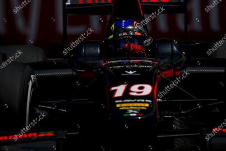 2017 FIA Formula 2 Round 4. Baku City Circuit, Baku, Azerbaijan. Friday 23 June 2017.Johnny Cecotto Jr. (VEN, Rapax)  Photo: Zak Mauger/FIA Formula 2.