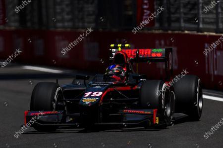 2017 FIA Formula 2 Round 4. Baku City Circuit, Baku, Azerbaijan. Friday 23 June 2017. Johnny Cecotto Jr. (VEN, Rapax)  Photo: Zak Mauger/FIA Formula 2.