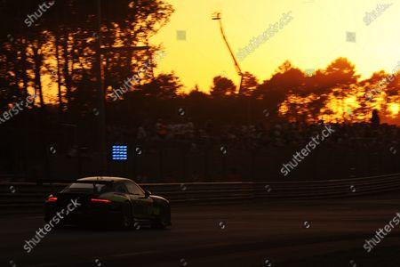 2017 Le Mans 24 Hours Circuit de la Sarthe, Le Mans, France. Sunday 18th  June 2017 #93 Proton Competition Porsche 911 RSR (991): Patrick Long, Abdulaziz Turki Al Faisal, Michael Hedlund  World Copyright: JEP/LAT Images