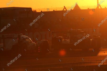 2017 Le Mans 24 Hours Circuit de la Sarthe, Le Mans, France. Thursday 15 June 2017 #23 Panis Barthez Competition Ligier JSP217-Gibson: Fabien Barthez, Timothe Buret, Nathanael Berthon  World Copyright: JEP/LAT Images
