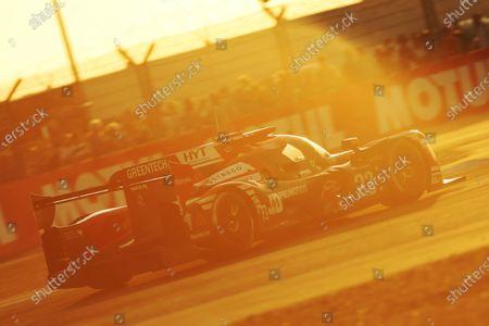 2017 Le Mans 24 Hours Circuit de la Sarthe, Le Mans, France. Thursday 15th June 2017 #23 Panis Barthez Competition Ligier JSP217-Gibson: Fabien Barthez, Timothe Buret, Nathanael Berthon  World Copyright: JEP/LAT Images