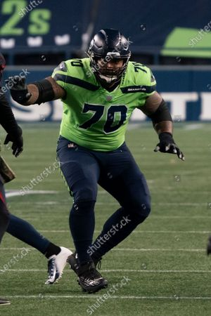 Editorial photo of Cardinals Seahawks Football, Seattle, United States - 19 Nov 2020