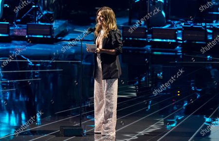 Kany Garcia speaks at the 21st Latin Grammy Awards, airing, at American Airlines Arena in Miami