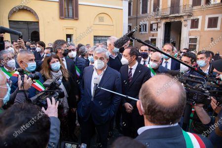 Antonio Tajani, MEP and vice president of Forza Italia
