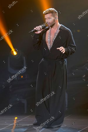 Ricky Martin performs for the 21st Latin Grammy Awards, airing, at American Airlines Arena in Miami