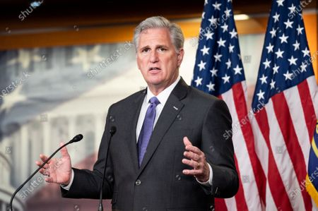 Editorial photo of House Minority Leader Kevin McCarthy Press Conference in Washington, US - 19 Nov 2020