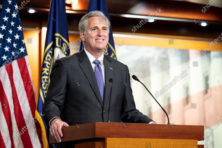 Editorial picture of House Minority Leader Kevin McCarthy Press Conference in Washington, US - 19 Nov 2020