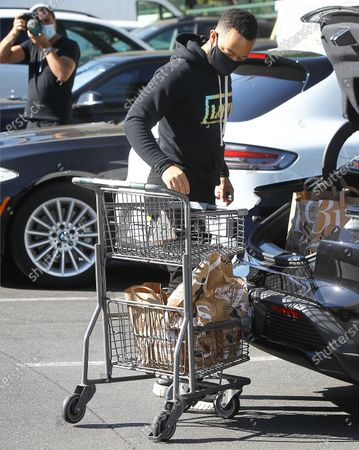 Editorial photo of John Legend out and about, Los Angeles, CA, USA - 17 Nov 2020