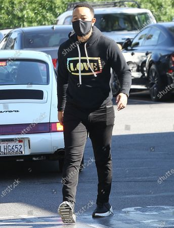 Editorial picture of John Legend out and about, Los Angeles, CA, USA - 17 Nov 2020