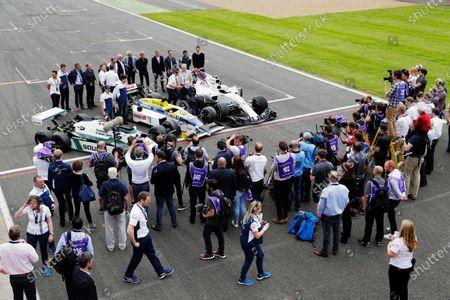 Editorial picture of Formula 1, Williams F1 40th Anniversary Celebration, Silverstone, United Kingdom - 02 Jun 2017