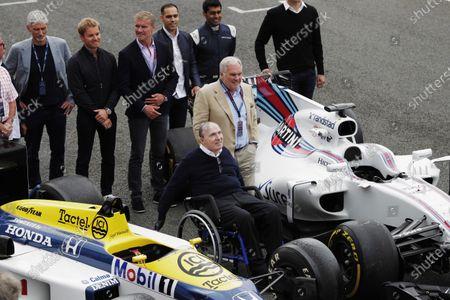 Editorial image of Formula 1, Williams F1 40th Anniversary Celebration, Silverstone, United Kingdom - 02 Jun 2017