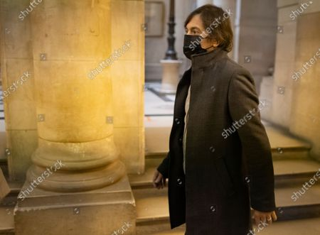 Passenger who was wounded in the 2015 Thalys train attack, Mark Moogalian arrives for the fifth day of the Thalys attack trial, in Paris, France, 20 November 2020. On 21 August 2015, gunman Ayoub El-Khazzani opened fire with an assault rifle, shot and wounded three people on a Thalys train travelling between Amsterdam and Paris before the assailant was overpowered by passengers.The incident happened near Arras in northern France shortly after 1600 GMT and the gunman was arrested when the train stopped at the town's station.