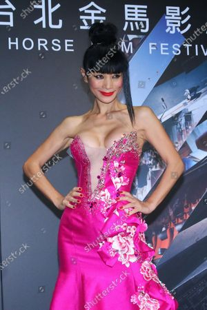 Bai Ling attends the premiere of 'The Abortionist'