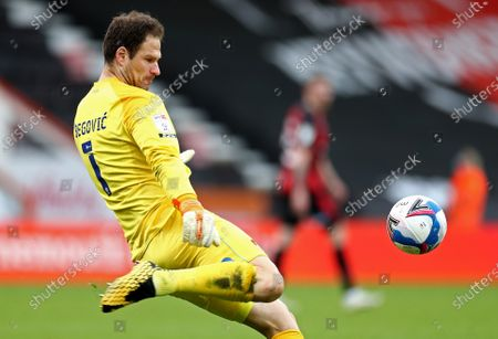 Asmir Begovic of Bournemouth.