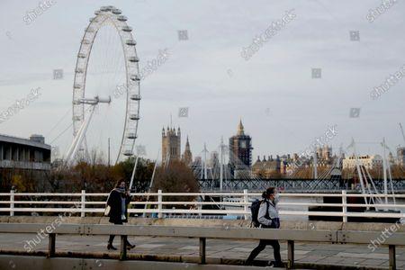 Editorial image of Virus Outbreak , London, United Kingdom - 20 Nov 2020