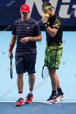 Editorial photo of Tennis ATP Finals, London, United Kingdom - 20 Nov 2020